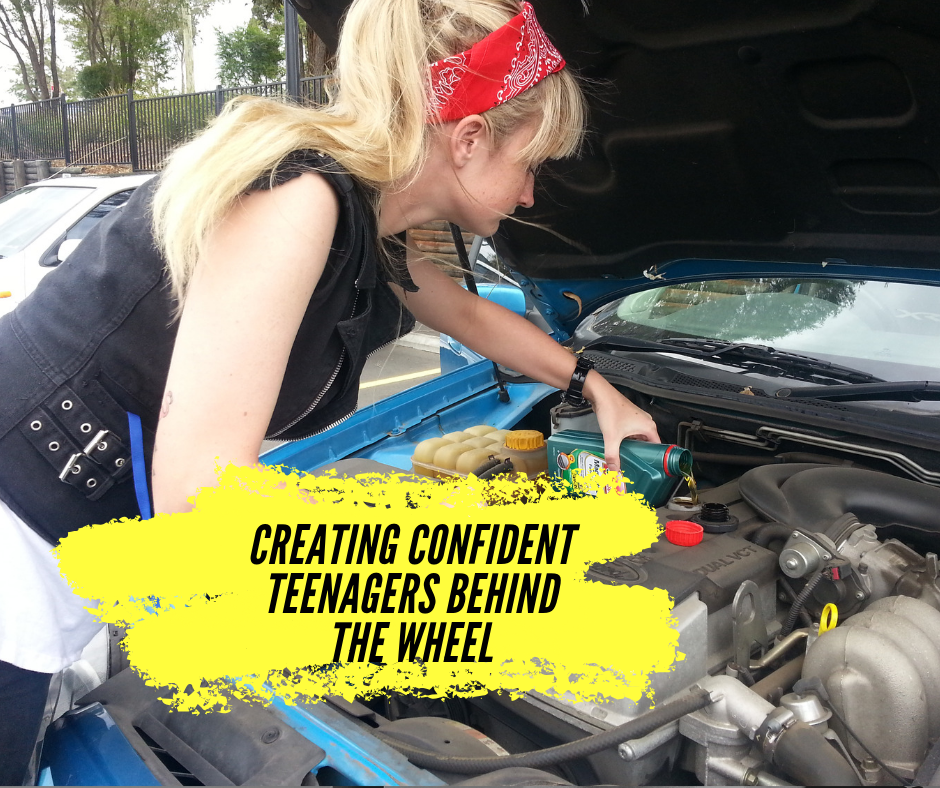 Creating Confident Teenagers behind the Wheel