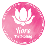 Kore Well-being logo - w name